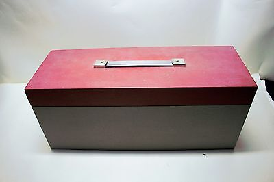 35MM Slide Storage Box - Holds 12 x 30 Capacity Trays - 360 Slides In Total