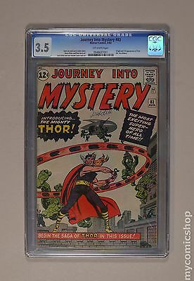Thor (1962-1996 1st Series Journey Into Mystery) #83 CGC 3.5 0948637001