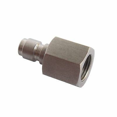 """New Stainless steel Inner Thread 1/8"""" NPT Male Quick Disconnect Adaptor"""