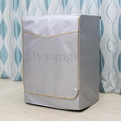 Washing Machine Dryer Cover Zippered Roller Dustproof Sunscreen Waterproof New