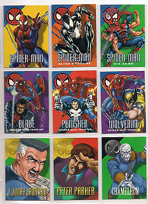 1996 MARVEL VISION CARD SET W/ ENCRYPTALIZER, MINI-MAGS NM Masterpieces