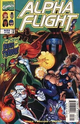 Alpha Flight (1997 2nd Series) #16 VG LOW GRADE