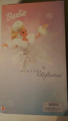 New in Box - Mattel Barbie Winter's Reflection Christmas Doll - Collector Editio