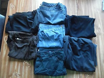 Lot 7 women's 20W dress pants and jeans. blue black brown Dress Barn Worthington