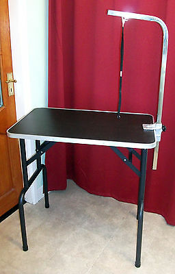 New ~ Superb ~ Fixed Grooming Table For Small/medium Size Dog/cat ~ Terrific Buy