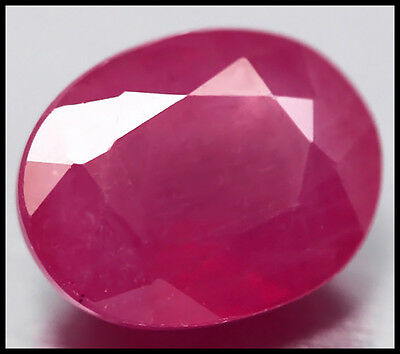 AUSTRALIAN SELLER! GORGEOUS 3.56ct NATURAL RICH PINK MADAGASCAR RUBY OVAL