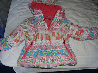 Girls Strawberry Faire Winter Coat Age 12 months