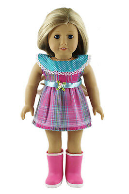 2017 Handmade fashion clothes dress for 18inch American girl doll b708