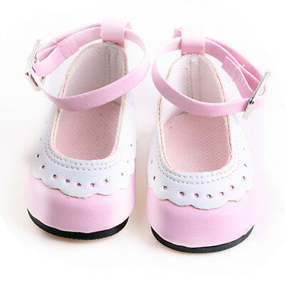 2017 giftcool Handmade fashion shoes for 18inch American girl doll party b378
