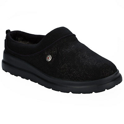 Women&Apos;S Skechers Cherish Sliegh Ride Slippers In Black From Get The Label