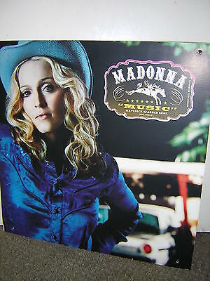 Madonna Promotional Display Board - Music