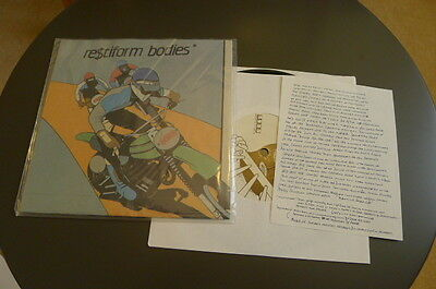 RESTIFORM BODIES i want what you want RECYCLE AMERICA 7 inch anticon