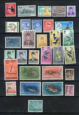Mint & Used INDONESIA Selection.      49p ask.