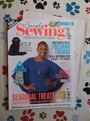 Simply Sewing Magazine~Issue 9 + Template Sheet