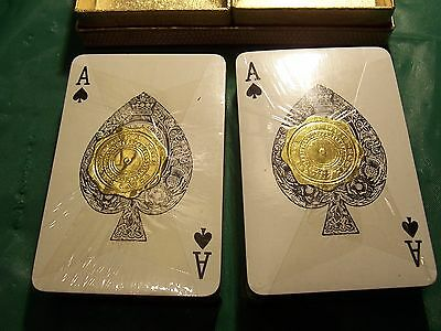 VINTAGE   MARGETTS & ADDENBROOKE LA RUE  PLAYING CARDS  unused  in travel box