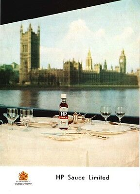 HP SAUCE -- Houses of Parliment    (Advertisement)