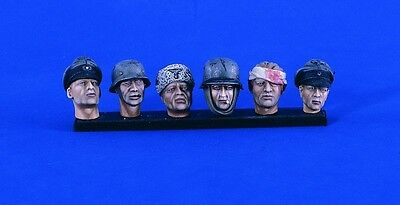 VERLINDEN PRODUCTIONS #2409 WWII German Heads in 1:16