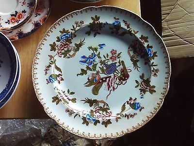 2 Copeland & Garrett Hand Painted Plates30 cm wide in VGC