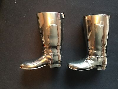 Grenadier Silver Plated Boots With Inners Drinks Measure