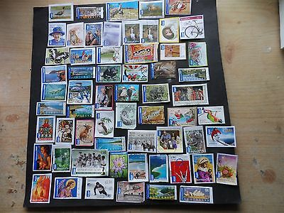 59 used on & off paper australian Internal post stamps see photos