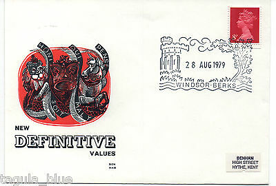 GB Stamps 28-8-1979 Definitive Issue Benham First Day Cover