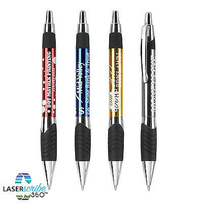 100 METAL PENS PERSONALIZED PROMOTIONAL MARKETING GIVEAWAY FREE SHIP drumwork