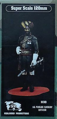 VERLINDEN PRODUCTIONS #1133 5th Punjab Cavarly Officer Figur in 1:16