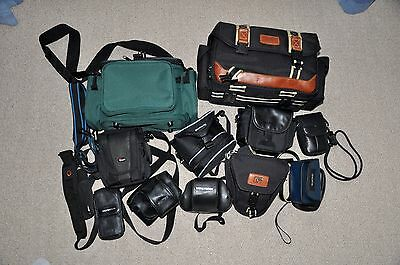 Job Lot  Assorted Photography Bags,cases,straps