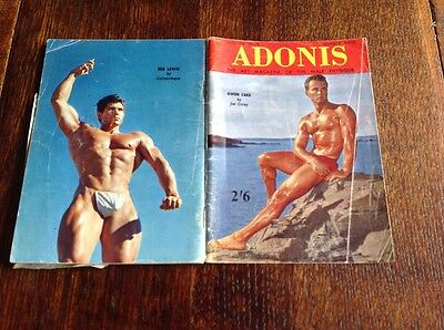 Adonis, The Art Magazine Of The Male Physique, Vintage