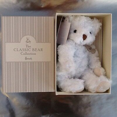 Harrods Boxed Teddy Bear New With Tags.