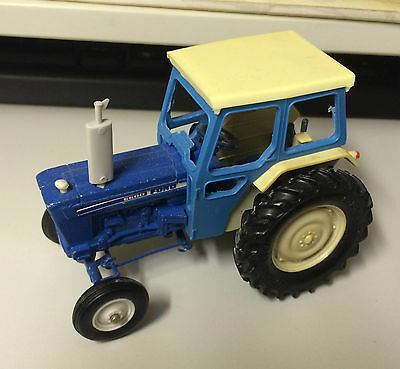 Vintage Britains 9524 FORD 6600 Blue Tractor Scale 1:32 Playworn Model