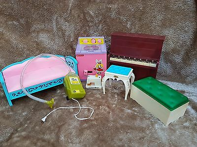 bundle of sindy pedigree/barbies/mattel/accessories/playset/princess/dolls house