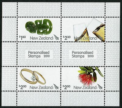 2010 New Zealand Mnh Sg Ms3192 Personalised Stamps Miniature Sheet