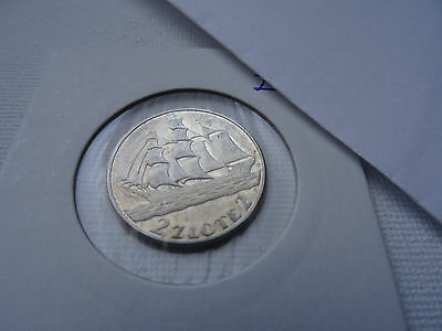 Two Zloty 1936   SILVER