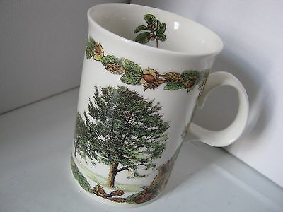 Vintage Collectable Dunoon Mug Special Edition Forest Shops Beech Tree Pig