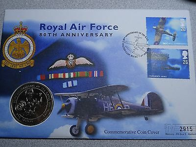 Guernsey  Five Pound 1998   Royal Air Force