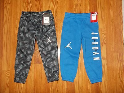 New Nike Air Jordan Boy's 3-4 Years Xs Lot Athletic Track Pants Therma Fit Nwt
