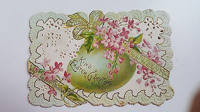 Victorian Easter Greetings Card