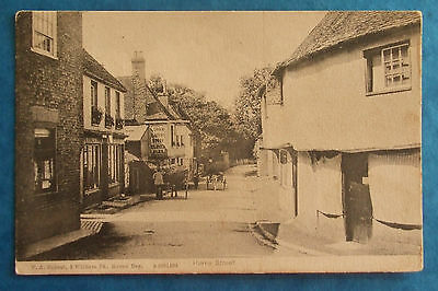 F.A.RIDOUT Postcard POSTED 1906 HERNE STREET HERNE BAY KENT