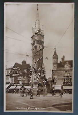 RP Postcard c.1930 THE CLOCK TOWER,LEICESTER,LEICESTERSHIRE