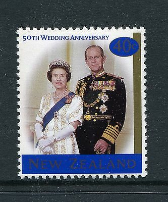 1997 New Zealand Mnh Sg 2117 Golden Wedding Commemorative Stamp