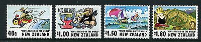 1997 New Zealand Mnh Sg 2118-2121 Cartoons Commemorative Stamp Set