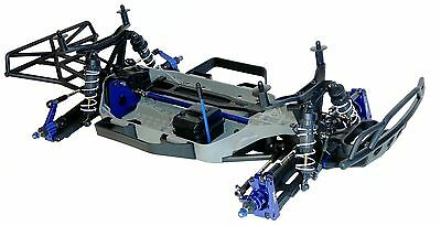 Traxxas Slash 4x4 Platinum Chassis LCG 1/10 brushless complete New