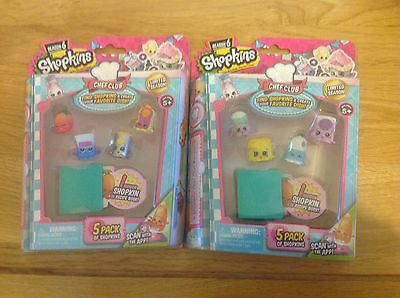 2 Shopkins Selection packs season 6 brand new and unopened