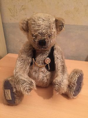 Dean's Rag Book Company Ltd Growler Bear Old Father Time Limted Edition