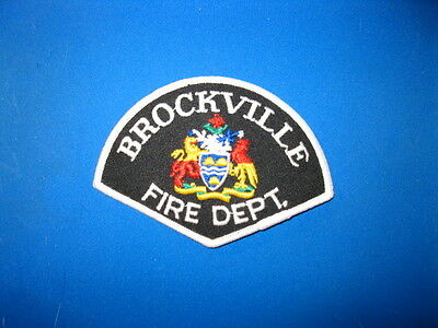 Brockville Fire Patch - Ontario