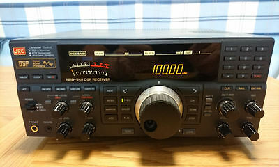 Jrc-Nrd-545 Dsp Hf/vhf/uhf Wide Band Communications Receiver