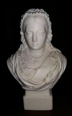 Queen Victoria Bust  Sculpture