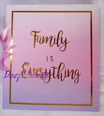 Photo Album Storage Holds 180 4 X 6 Photos - Family Is Everithing ... New