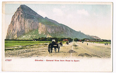 Gibraltar - General View From Road To Spain - C.1910